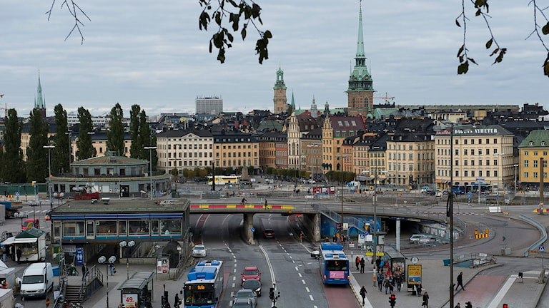 Slussen i Stockholm. Foto: TT
