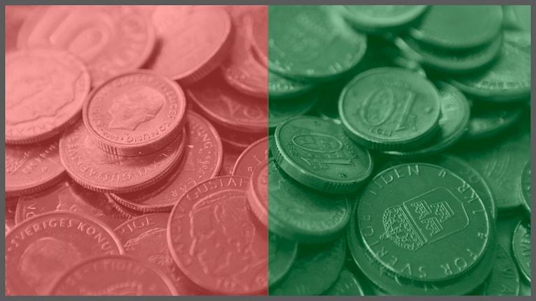 Ekonomi grönröd budget. Foto: TT