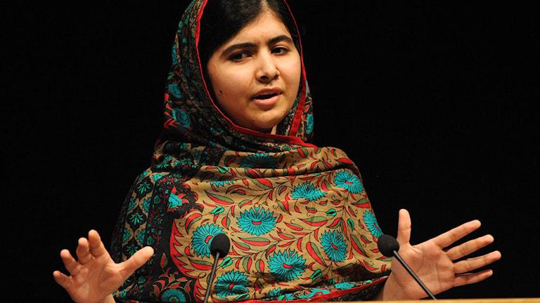 Malala Yousafzai. Foto: Rui Vieira/TT