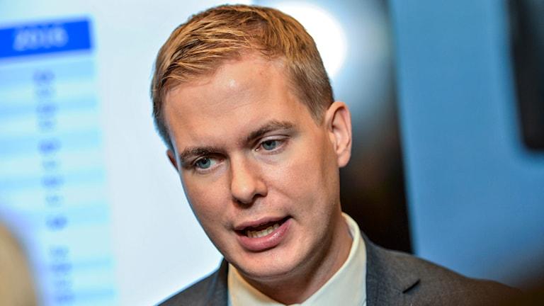 Gustav Fridolin (MP), utbildningsminister. Foto: TT