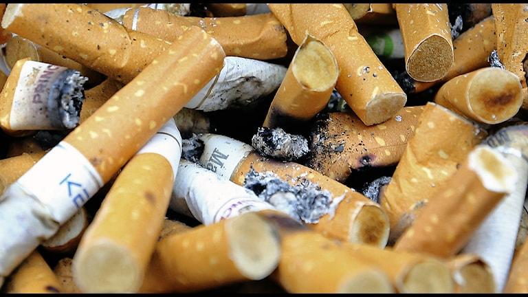 Rökare och före detta rökare löper en större risk att få lungcancer. Foto: Terje Pedersen / NTB scanpix / TT