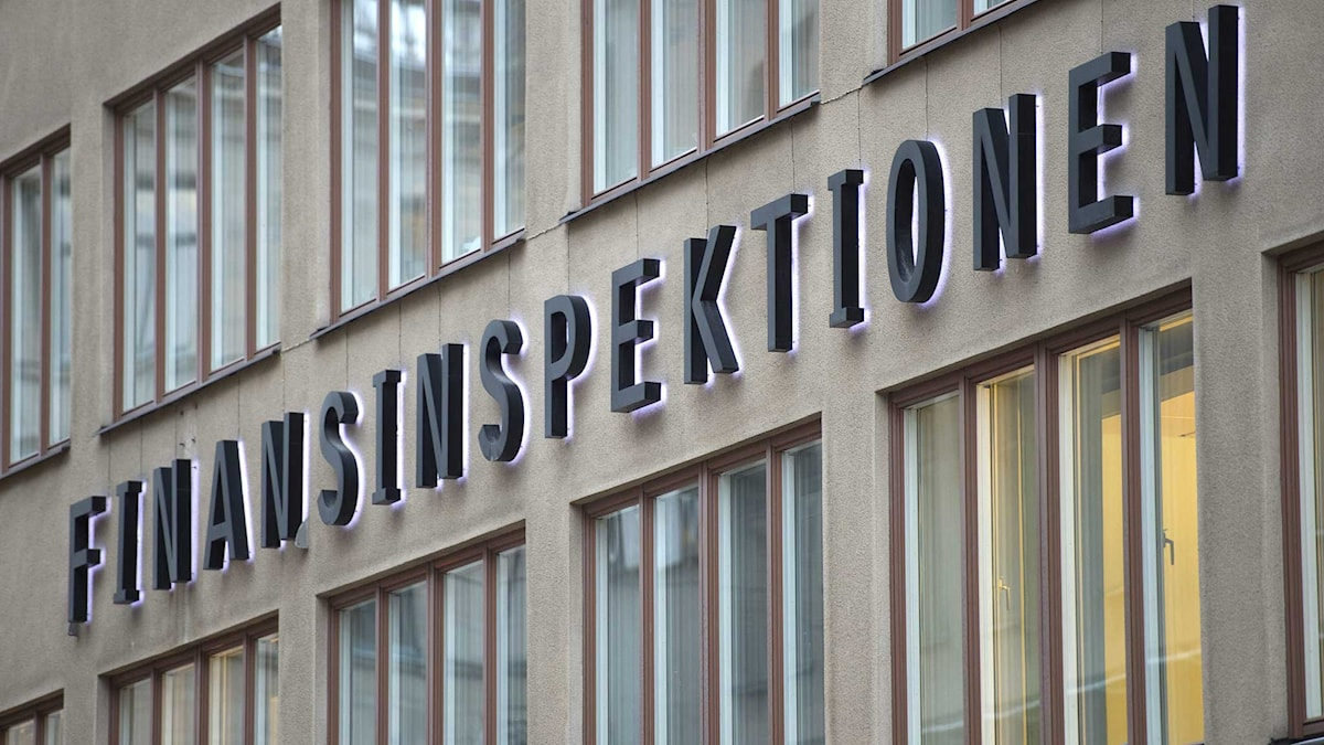 Finansinspektionen. Foto: Fredrik Sandberg/TT.