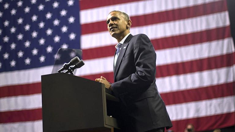 Barack Obama. Foto: Pablo Martinez Monsivais/TT