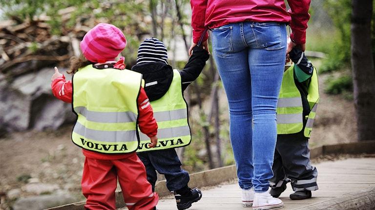 Kommunal kräver att kvinnorna släpps fram med högre löneökningar. Foto:  Jens L' Estrade/TT.
