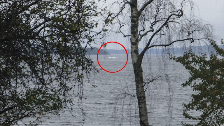 An amateur picture of the suspected submarine in October. But were there more? Photo: Swedish Armed Forces