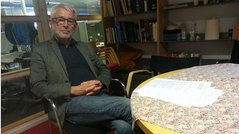 Per Nygren, journalist och registrerad av Säpo. Foto: Jonna Burén / Sveriges Radio