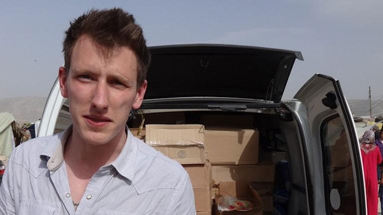 Peter Kassig var hjälparbetare i Syrien när han kidnappades. Foto: TT.