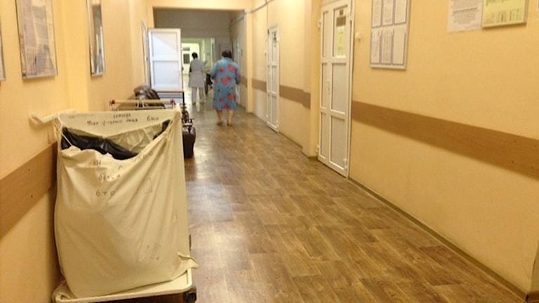 Sjukhus stängs eller privatiseras i Moskva på bekostnad av patienterna, enligt läkare. Foto: Maria Persson-Löfgren/Sveriges Radio.