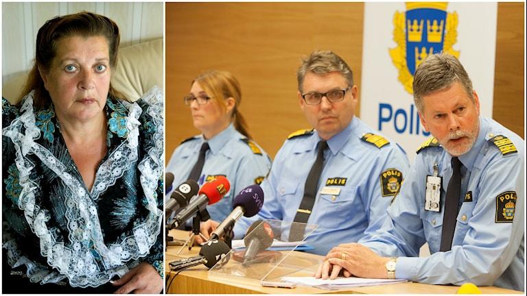 Rosita Grönfors, ordförande för de romska kvinnornas riksförbund.