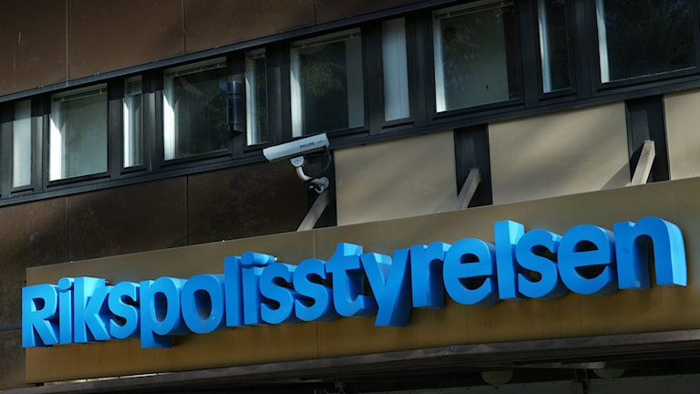 Rikspolisstyrelsen i Stockholm. Foto: Henrik Montgomery/TT.