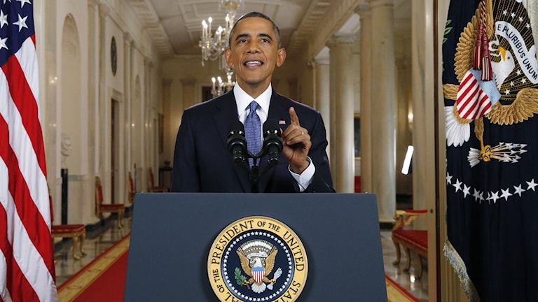 USA:s president Barack Obama. Foto: Jim Bourg/TT