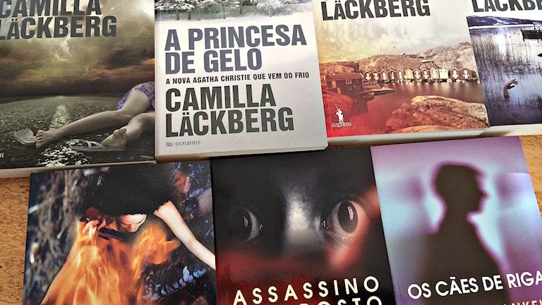 Portugisiska översättningar av svenska böcker.