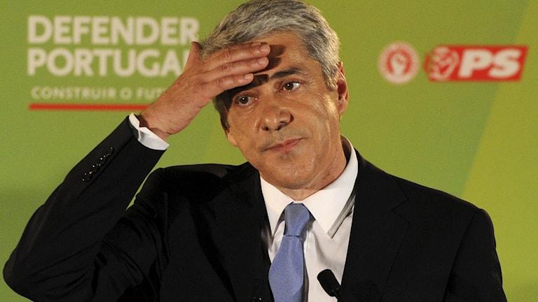 Portugals tidigare premiärminister José Sócrates. Foto: Francisco Leong/TT.