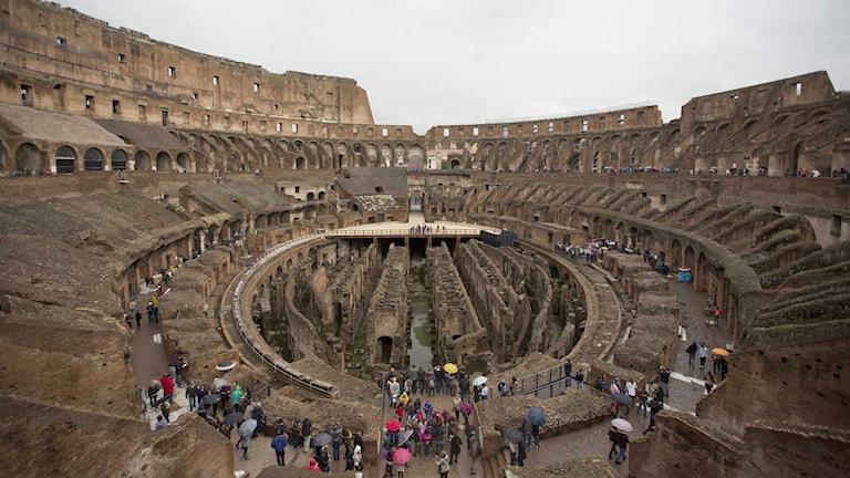 Colosseum i Rom. Foto: Alessandra Tarantino/TT.