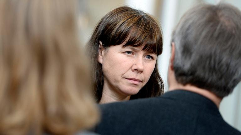 Åsa Romson, klimat- och miljöminister. Foto: TT