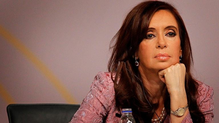 Argentinas president, Cristina Kirchner. Foto: TT