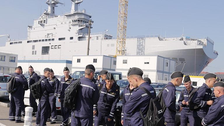 Frankrike, fartyg, Ryssland