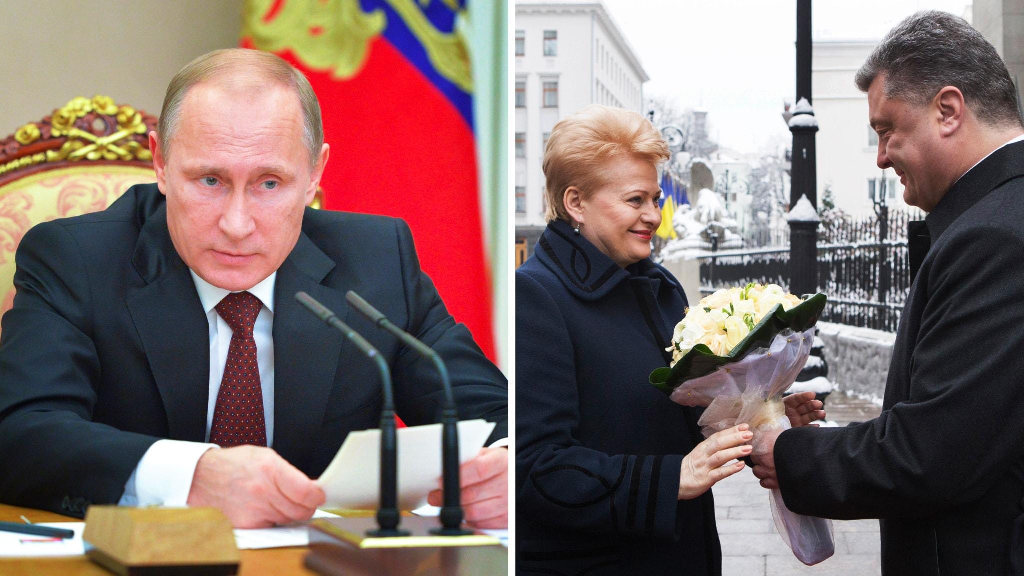Putin man varnar baltstater