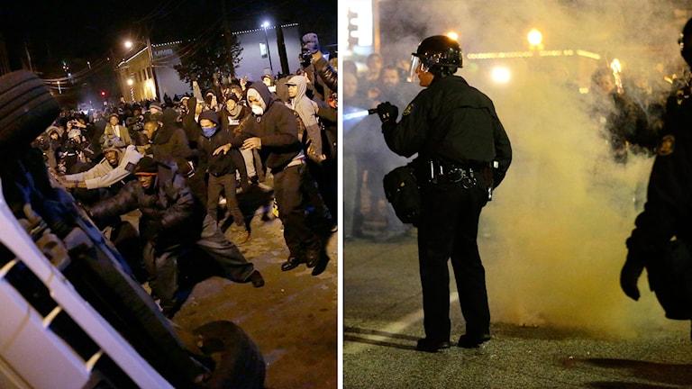 Bråk i Ferguson