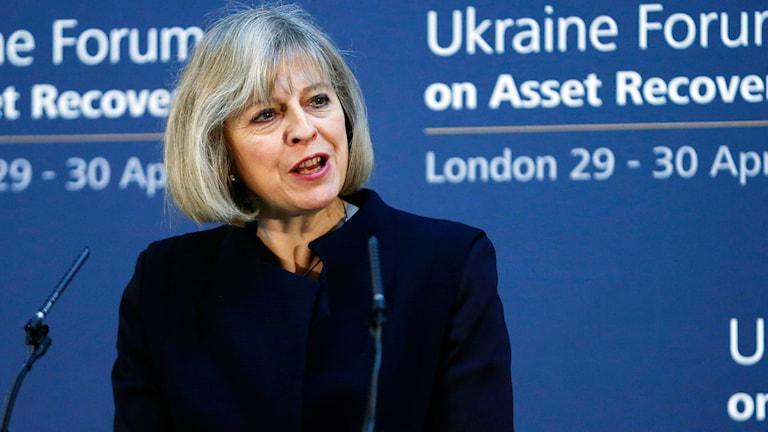 Theresa May, Storbritanniens inrikesminister