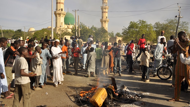 Attack mot moské i staden Kano, i norra Nigeria. Foto: TT