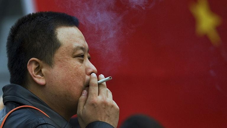 Kina, rökning