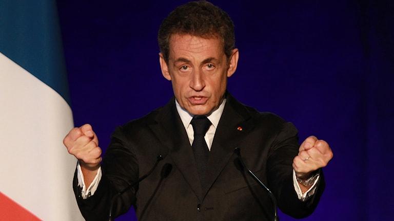 Nicolas Sarkozy. Foto: TT