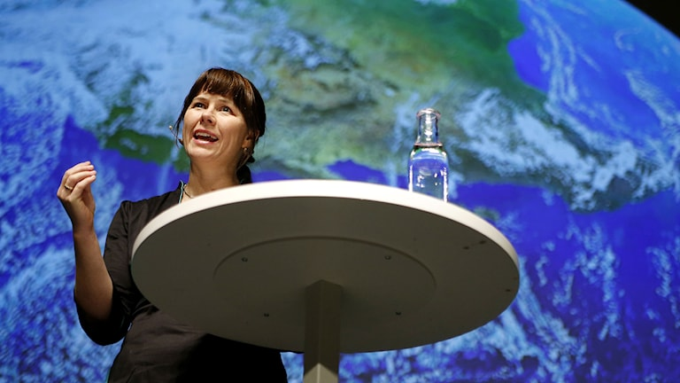 Miljöpartiets språkrör Åsa Romson. Foto: Linn Malmén/TT.