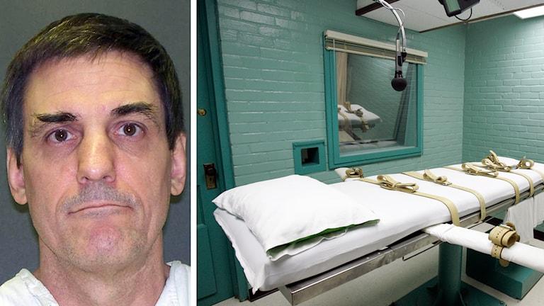Scott Panetti sitter på death row i Huntsville, Texas, där han kommer att avrättas trots att han är mentalsjuk. Foto: TT