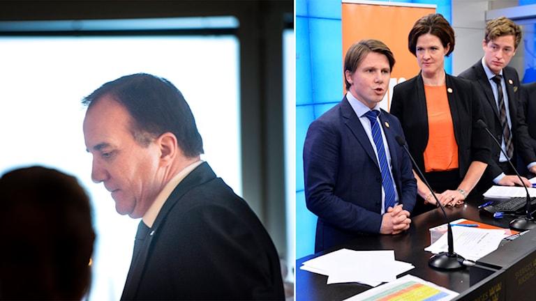 Stefan Löfven, Alliansen