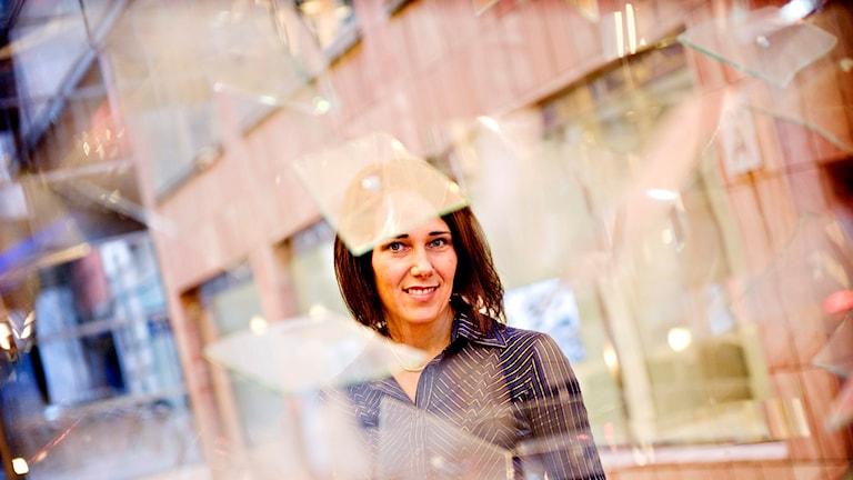 Annika Winsth, Nordeas chefekonom i Sverige. Foto Patrik Lundin/TT.