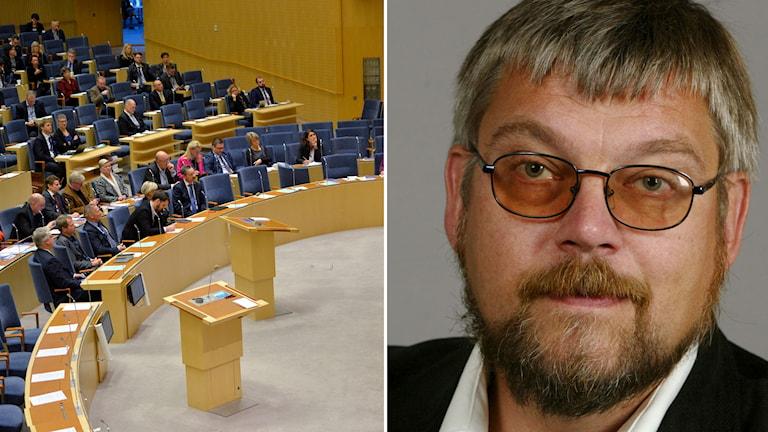 Riksdagens budgetdebatt, Leif Jakobsson (S). Foto: TT.