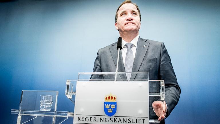 Stefan Löfven. Foto: TT