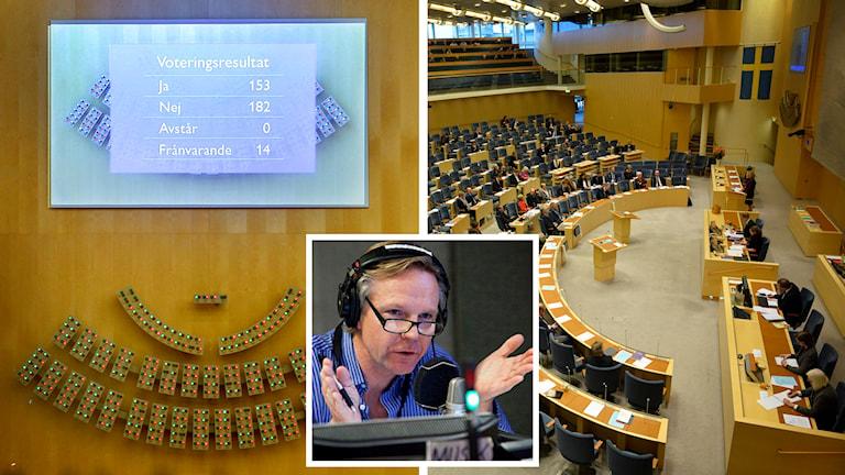 Tomas Ramberg kommenterar ned nedröstade rödgröna budgeten och extravalet som kommer att hållas. Foto: TT