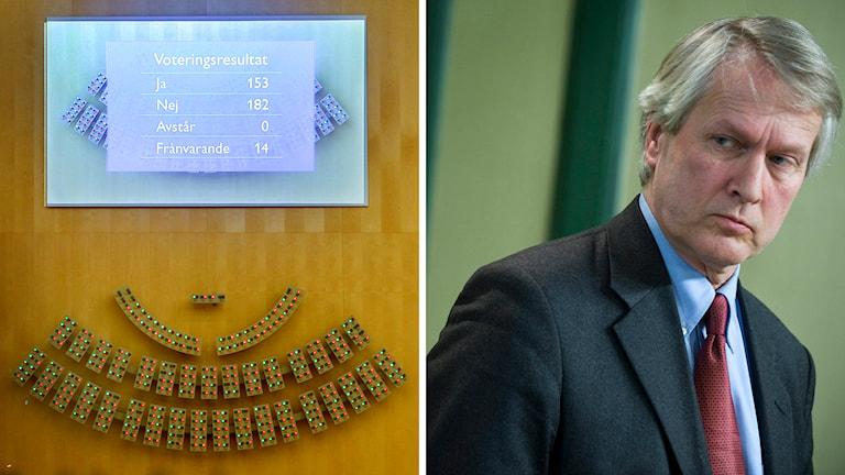 Per Molander, generaldirektör för Inspektionen för socialförsäkringen. Foto: TT