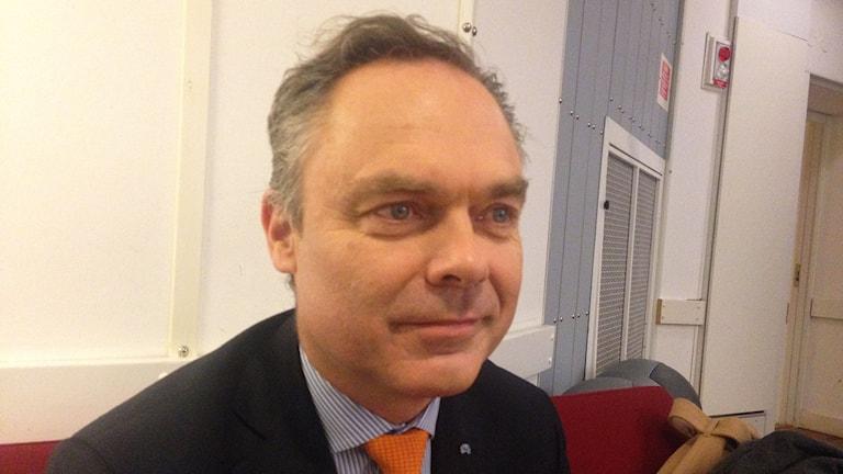Jan Björklund i P1-morgon.
