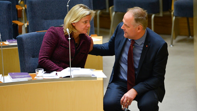 Magdalena Andersson, Jonas Sjöstedt