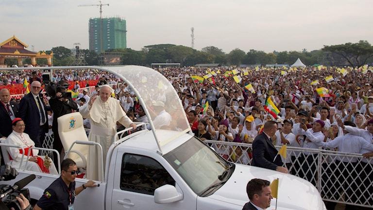 Påven i Burma
