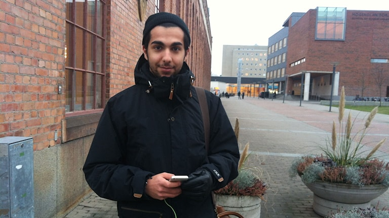 Yal Ameen i Jönköping. Foto: Alexandra Svedberg/Sveriges Radio.