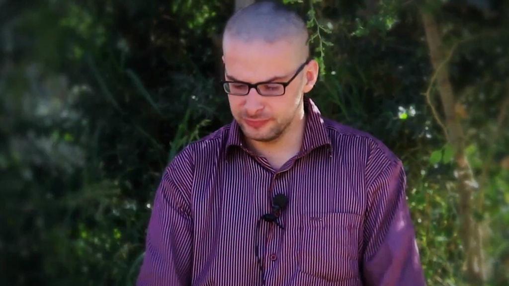 Amerikanska journalisten Luke Somers dödades under fritagningsförsöket. Foto: TT