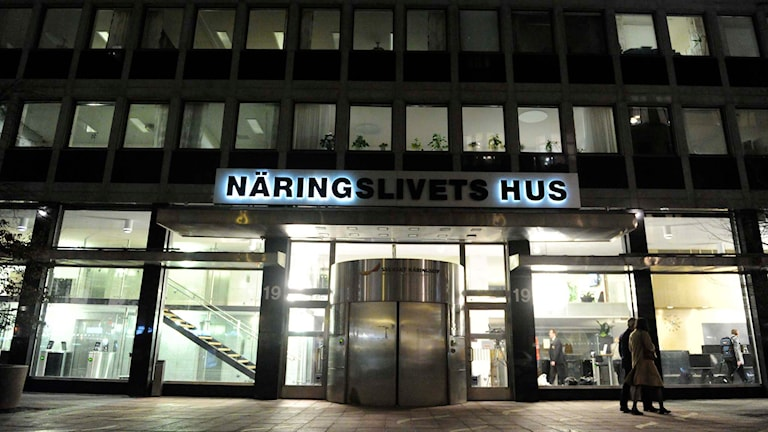 Näringslivets hus i Stockholm. Foto: Erik Mårtensson/TT.