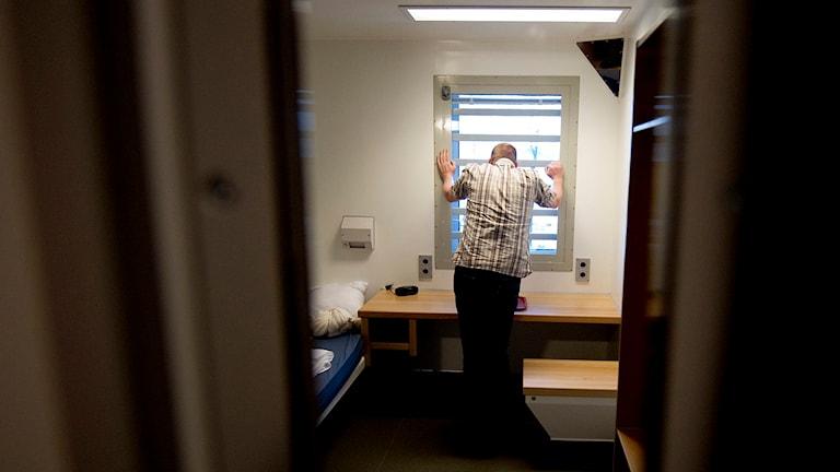 Man i häkte. Foto: Adam Ihse/TT.