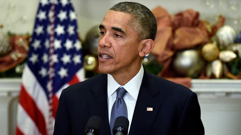 USA:s president Barack Obama. Foto: Susan Walsh/TT