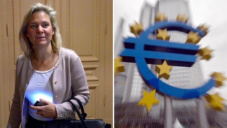 Magdalena Andersson, Sveriges finansminister. Foto: TT
