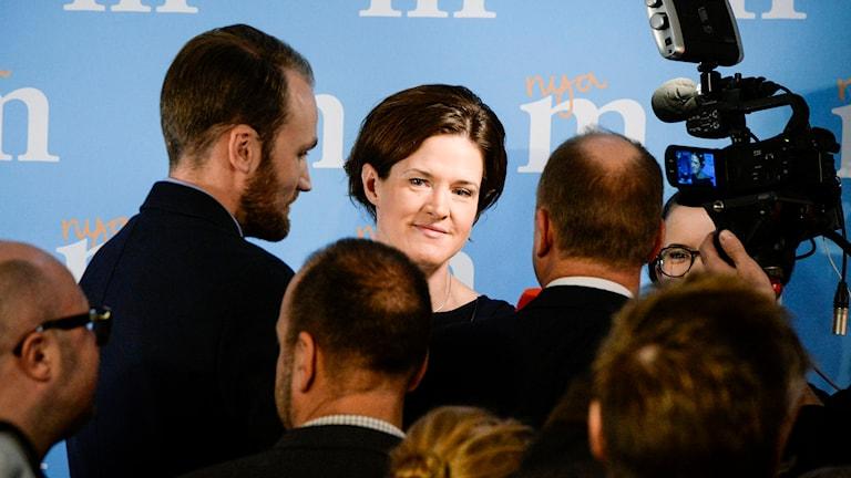 Anna Kinberg Batra föreslås bli Moderaternas nya partiledare. Foto: BERTIL ERICSON / TT