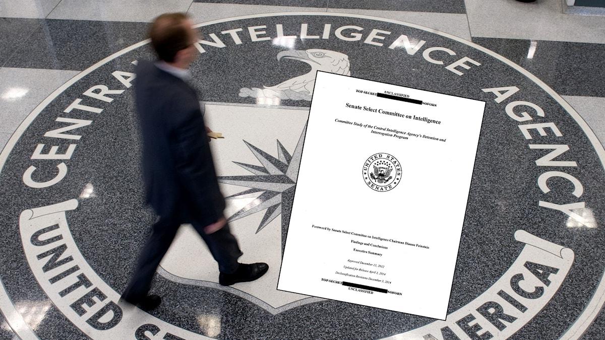 Rapporten om CIA avslöjar de tveksamma metoderna. Foto: TT
