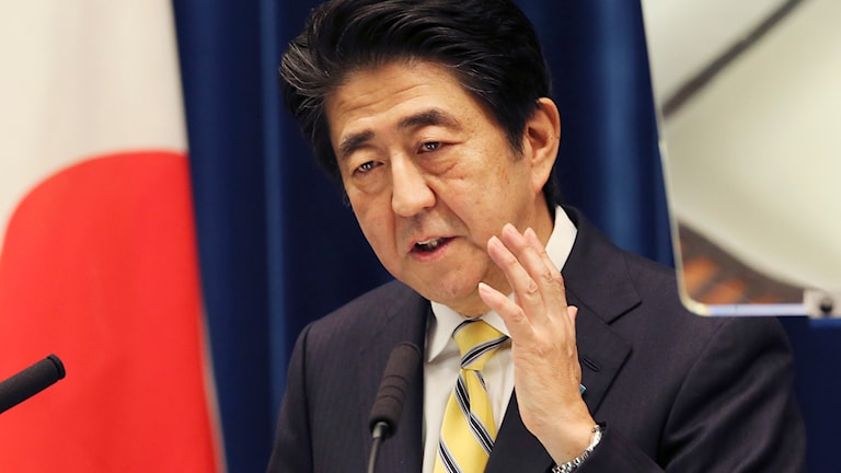 Shinzo Abe. Foto: TT