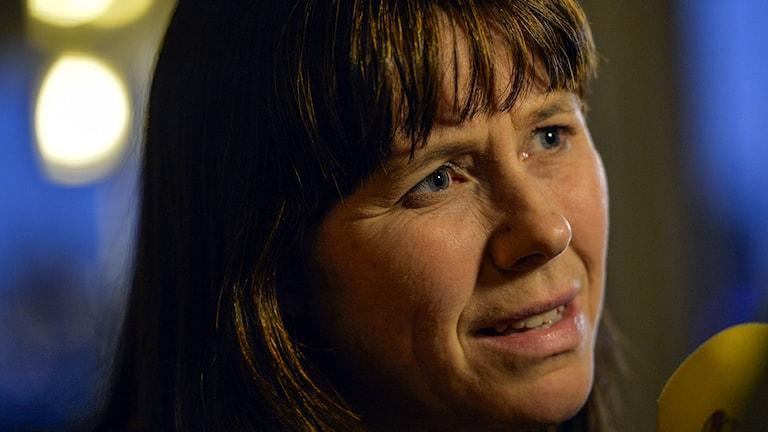 Klimat- och miljöminister Åsa Romson (MP). Foto: Henrik Montgomery/TT.
