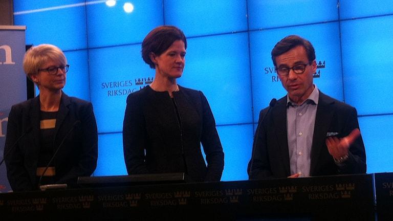 Ulf Kristersson blir Moderaternas nya ekonomisk-politisk talesperson. Foto: My Rohwedder/Sveriges Radio.