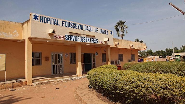 Ett sjukhus i Mali. Foto: Baba Ahmed/TT.